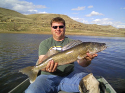 Brian 30 inch Milk River Walleye