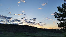Sunrise at Fort Peck Lake