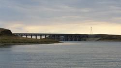 Fort Peck spillway at Flat Lake
