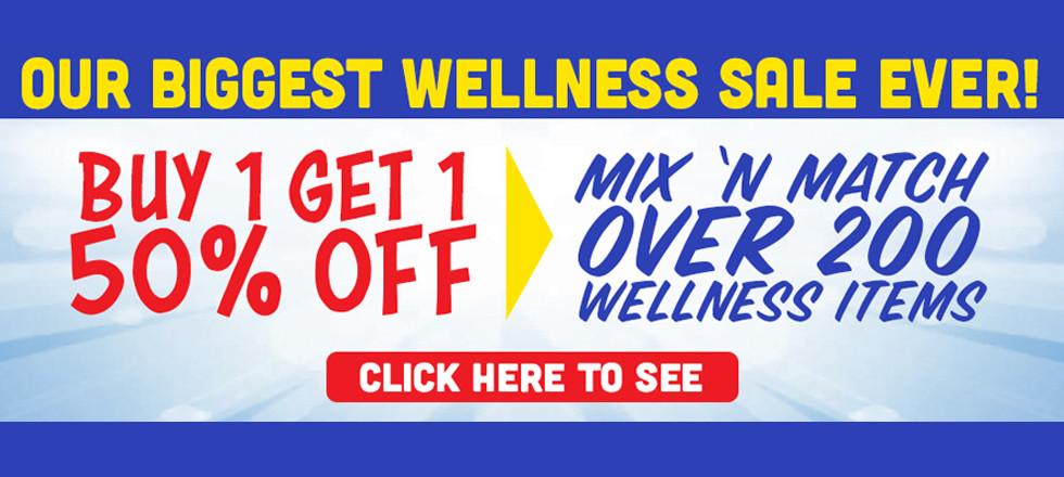 Huge Wellness Sale!