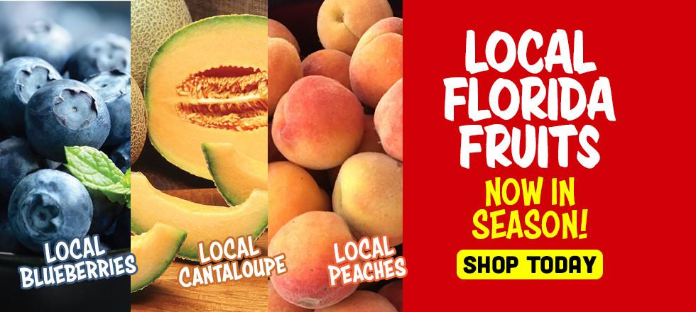 Local Florida Fruits!