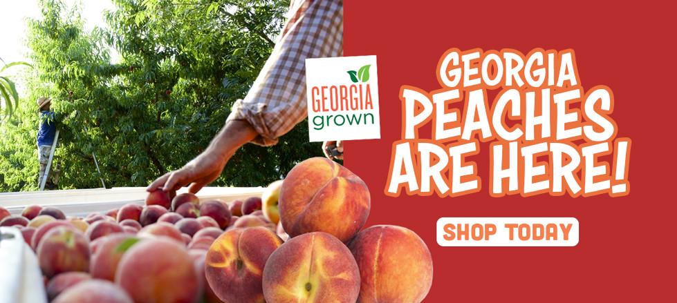 Georgia Peaches are here!