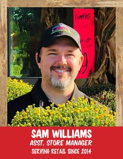 Sam Williams - Asst. Store Manager.jpg