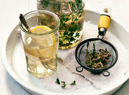 Thyme Tea for Hangovers