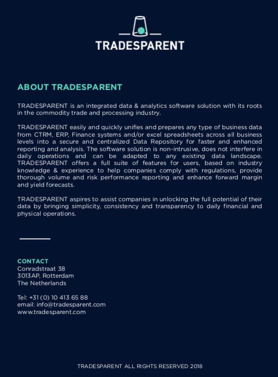 TRANDESPARENT - The story behind   ComRisk Forum 2019   21