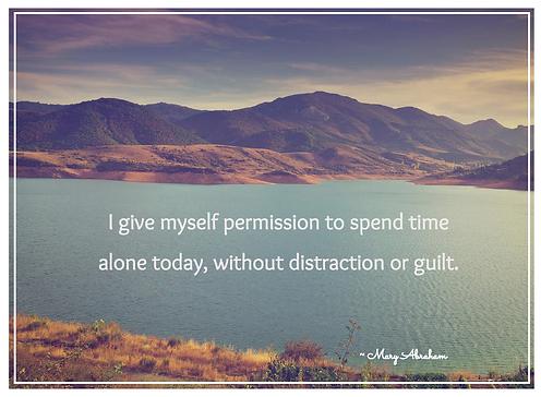 affirmation, positive, inspiring, inspirational, confidence, balance, meme, Mary Abraham, writer, Detroit, MI, Michigan