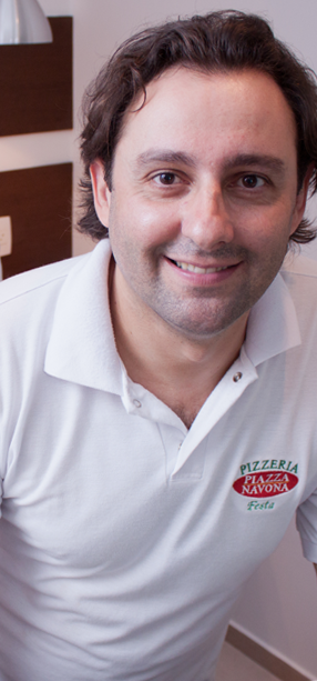 Ezequiel Calandra é proprietário da Piazza Navona