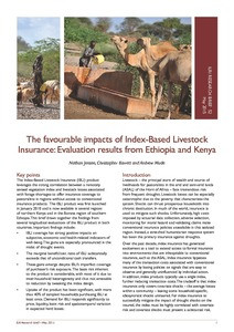 A Business Evaluation of the Sales and Distribution Model for Index-Based Livestock Insurance