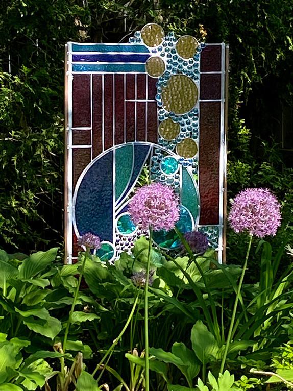 """Circle of Life"" Glass Sculpture"