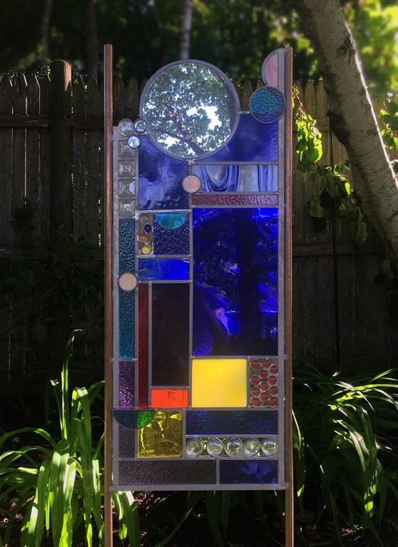 """""""Just Love"""" Glass Sculpture"""