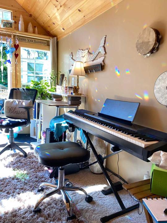 Inside the Music Room