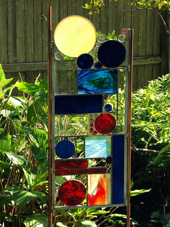 """""""Moonlight"""" Glass Sculpture"""