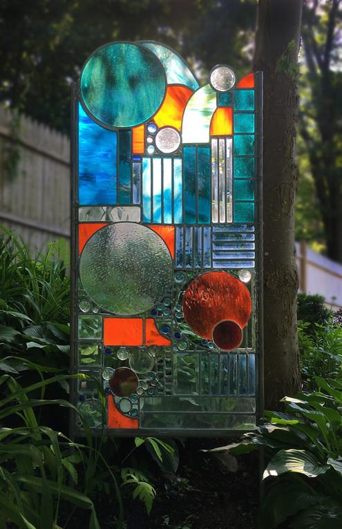 """""""Wild Abandon"""" Glass Sculpture"""