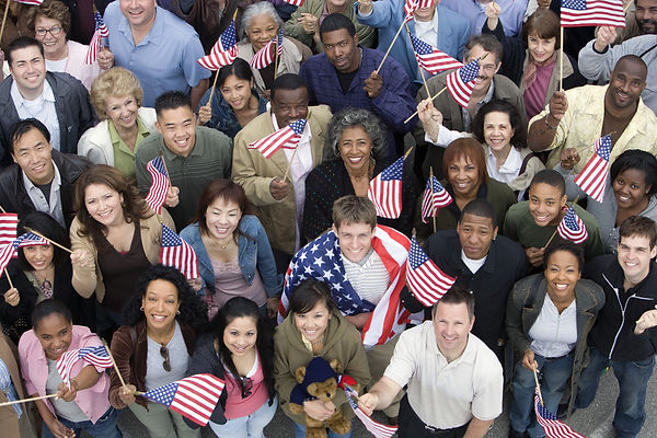 Americans with flags.jpg