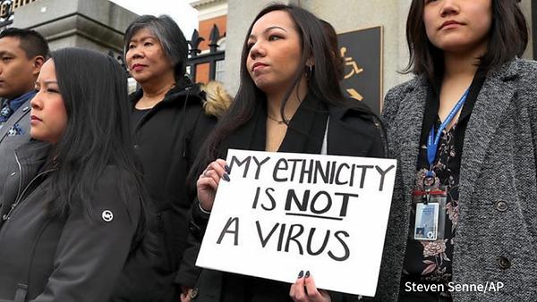 My Ethnicity is Not a Virus Rep Scott Pe