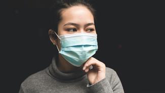 APA woman in mask