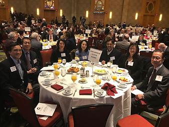 AAPA table at MoCo Legislative Breakfast