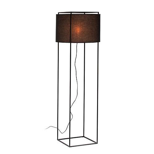 Susana Floor Lamp - Black Metal