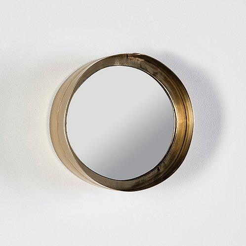 Lulu Mirror 20x8x20 - Golden Metal