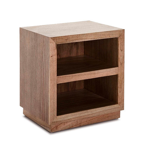 Stella Nightstand - Natural Veiled Wood