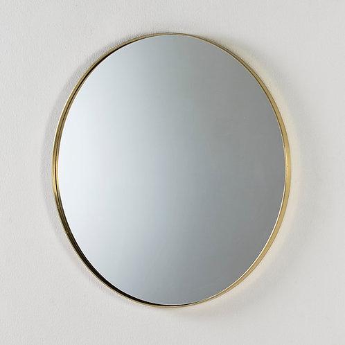 Beverly Espejo 80x5x80 - Metal Dorado