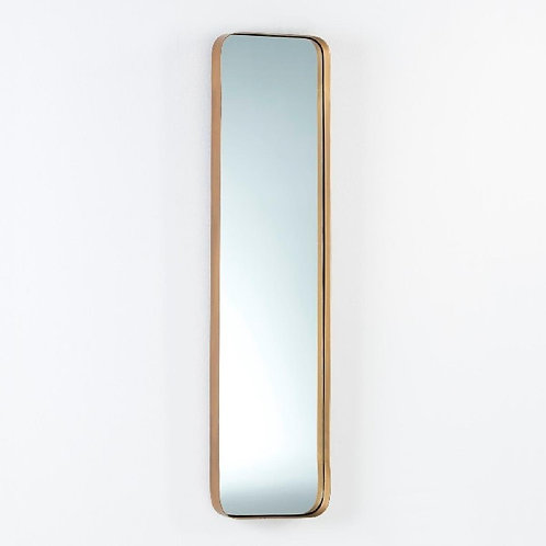 Francis Mirror 30x5x120 - Golden Metal