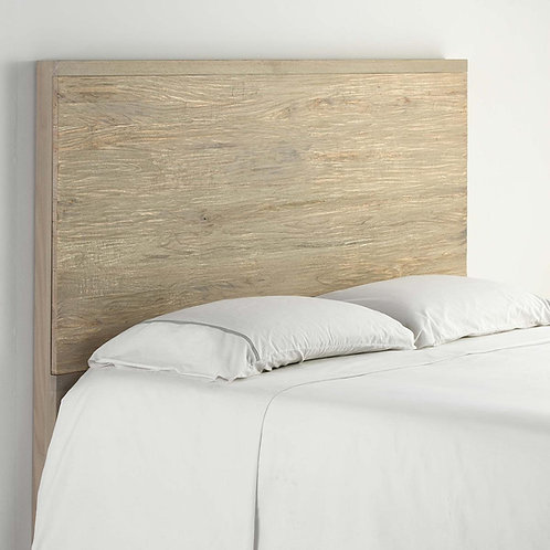 Cynthia Headboard/Dbl - Rustic Natural Wood
