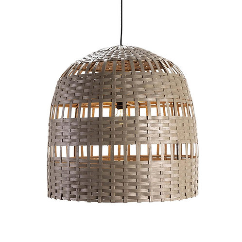 Waverley Hanging Lamp - Grey Wicker