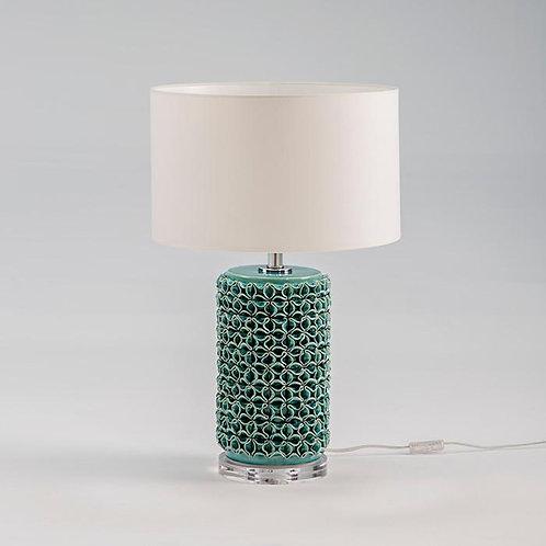 Montserrat Lámpara de Sobremesa - Cerámica Verde Claro