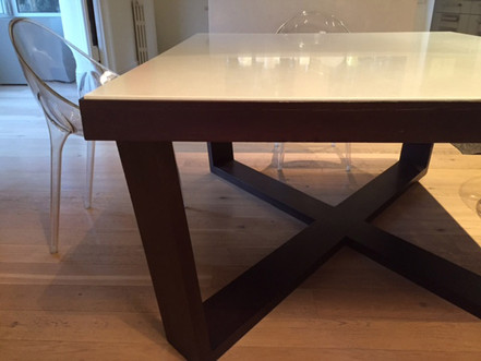 Made to size dining table