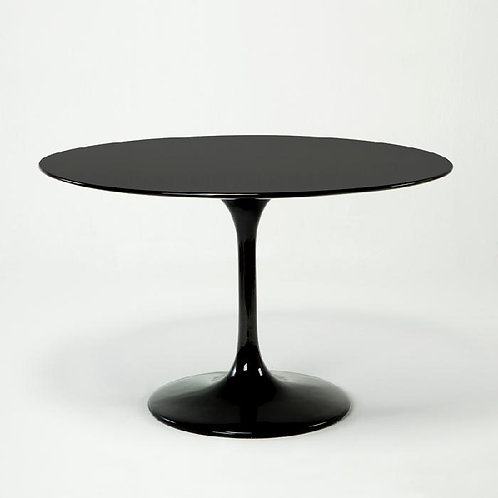 Audrey Dining Table - Black Fiberglass