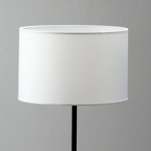 Dianne Lampshade 40x40x24 - White Cotton