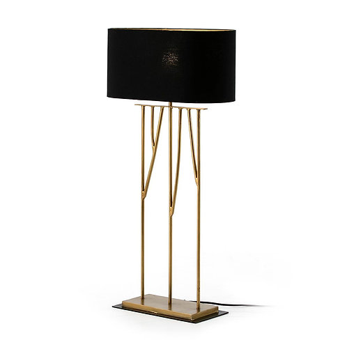 Delilah Lámpara de Sobremesa - Metal Dorado