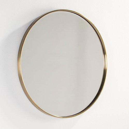 Beverly Mirror 90x4x90 - Golden Metal