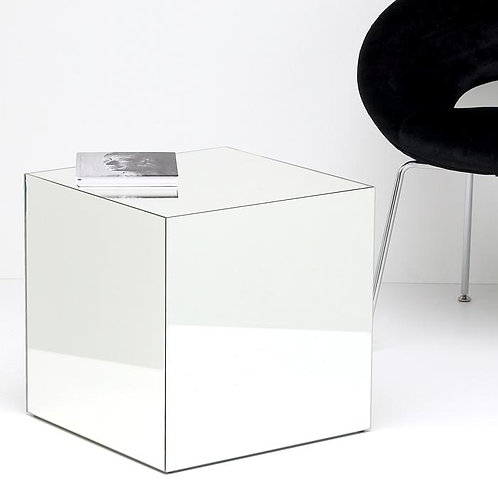 Scarlett Side Table - Mirrored