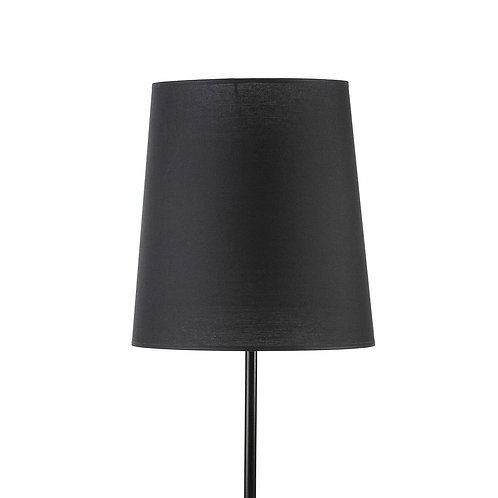 Penelope Lampshade 30x24x32 - Black Cotton