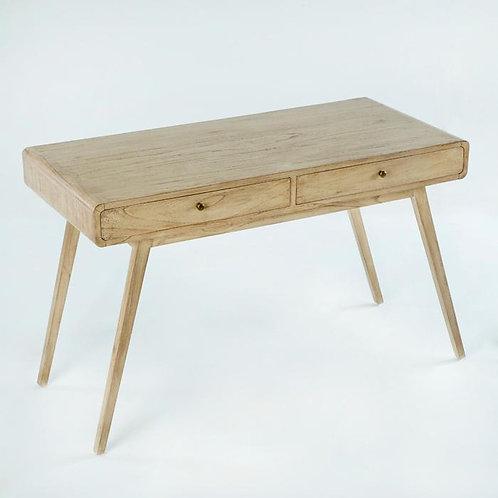 Marian Desk - White Veiled Wood