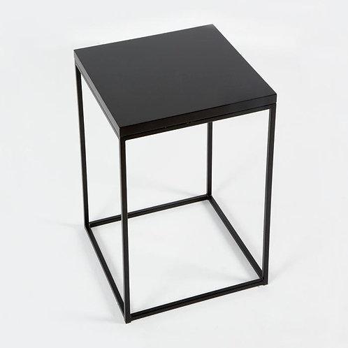 Lana Side Table - Black MDF/Metal