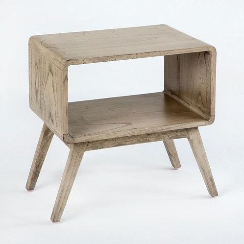 Doris Nightstand - Grey Veiled Wood