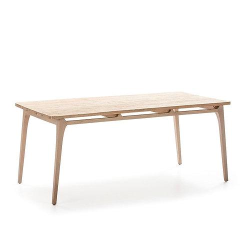 Pollard Dining Table - Grey Natural Wood