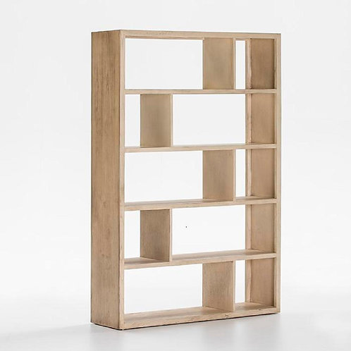 Robert Bookshelf - White Veiled Wood