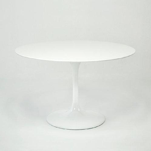 Audrey Dining Table - White Fiberglass