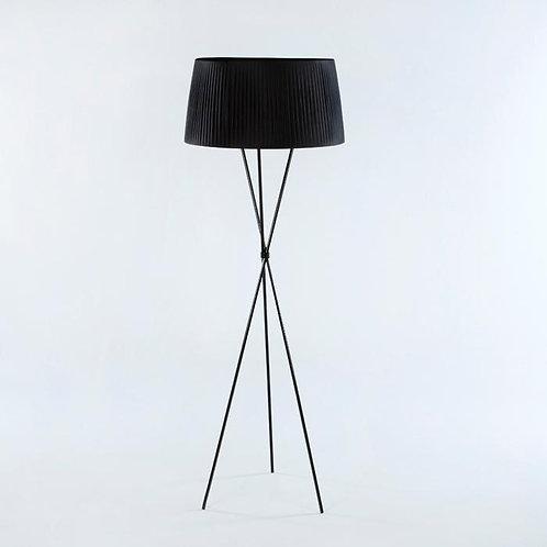 Valentina Floor Lamp - Black Metal