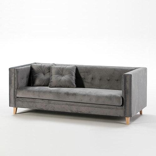 Flynn Fabric Sofa - Grey