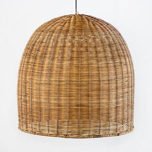 Laura Hanging Lamp - Natural Wicker