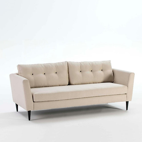 Alice Fabric Sofa - Cream