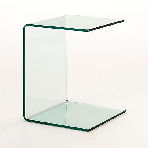 Kara Side Table - Transparent Glass