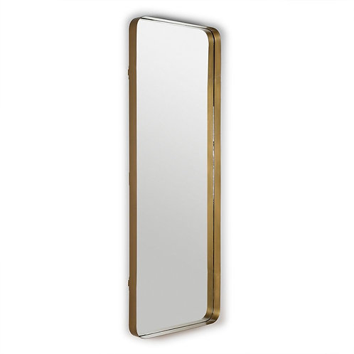 Francis Mirror 70x7x190 - Golden Metal