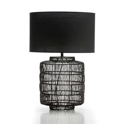 Eva Table Lamp - Black Metal