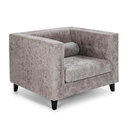 Jennifer Armchair - Grey Fabric